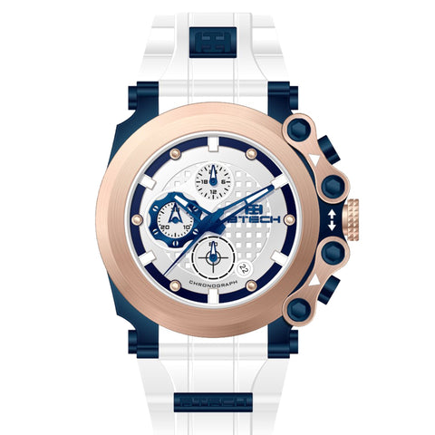 Cite Chrono White Unisex Watch (BT-CC-331-01)