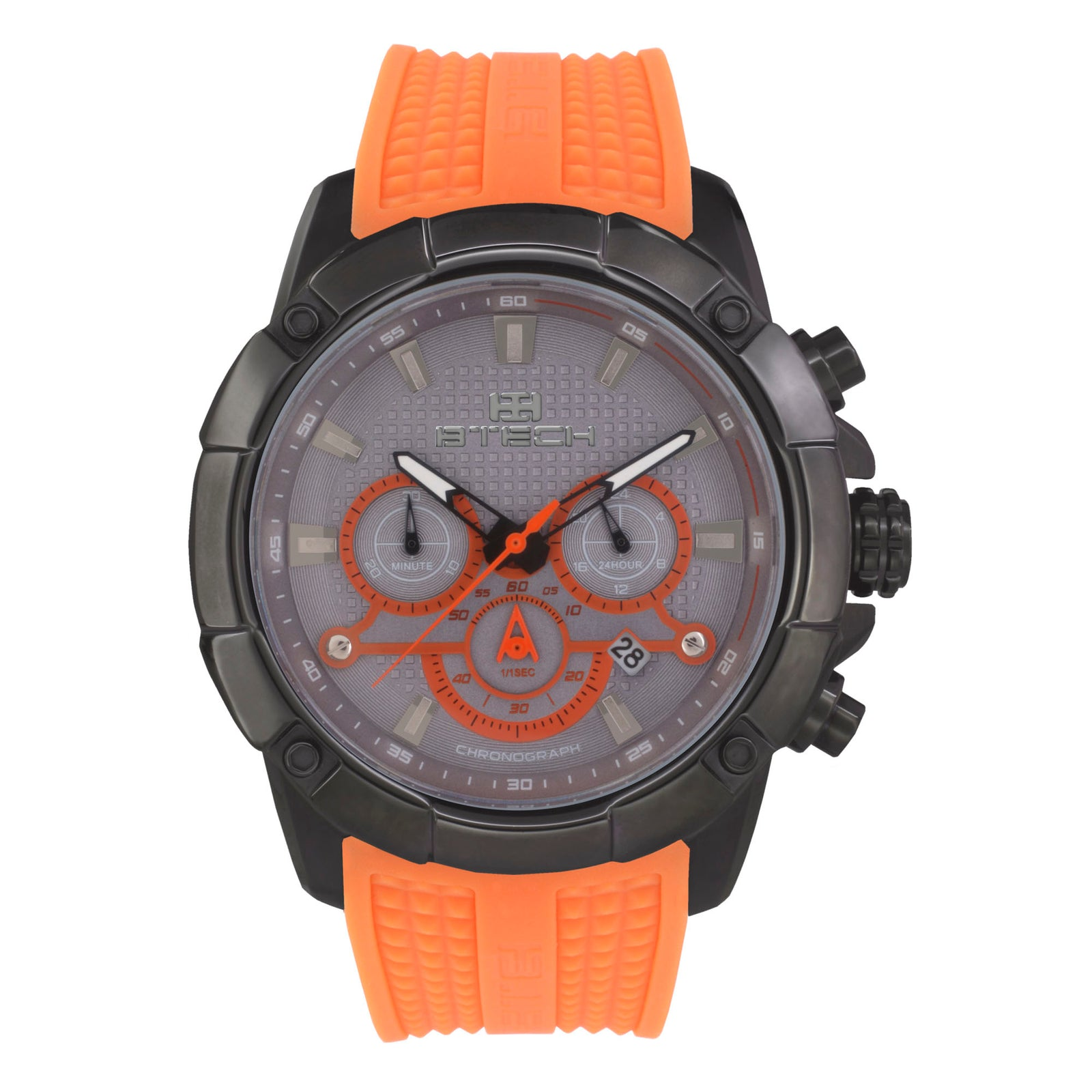 Delta Chrono Orange Unisex Watch (BT-CD-388-09)
