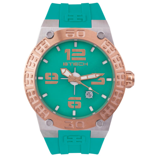Btech BT Aquamarine Unisex Watch (BT-IB-213-06)