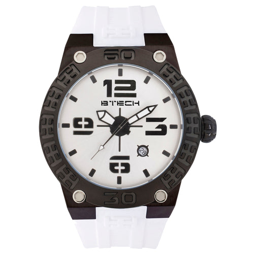 BTECH BT White Unisex Watch (BT-IB-222-01)