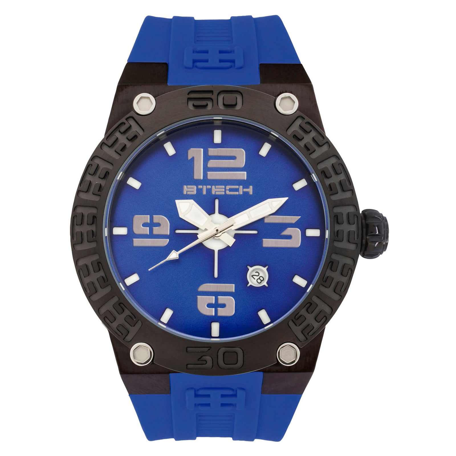 BTECH BT Blue Unisex Watch (BT-IB-222-04)