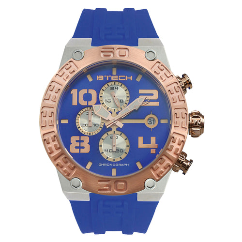 BTECH BT Chrono Blue Unisex Watch (BT-IB-313-04)