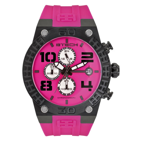 BT Chrono Black Unisex Watch (BT-IB-322-02)