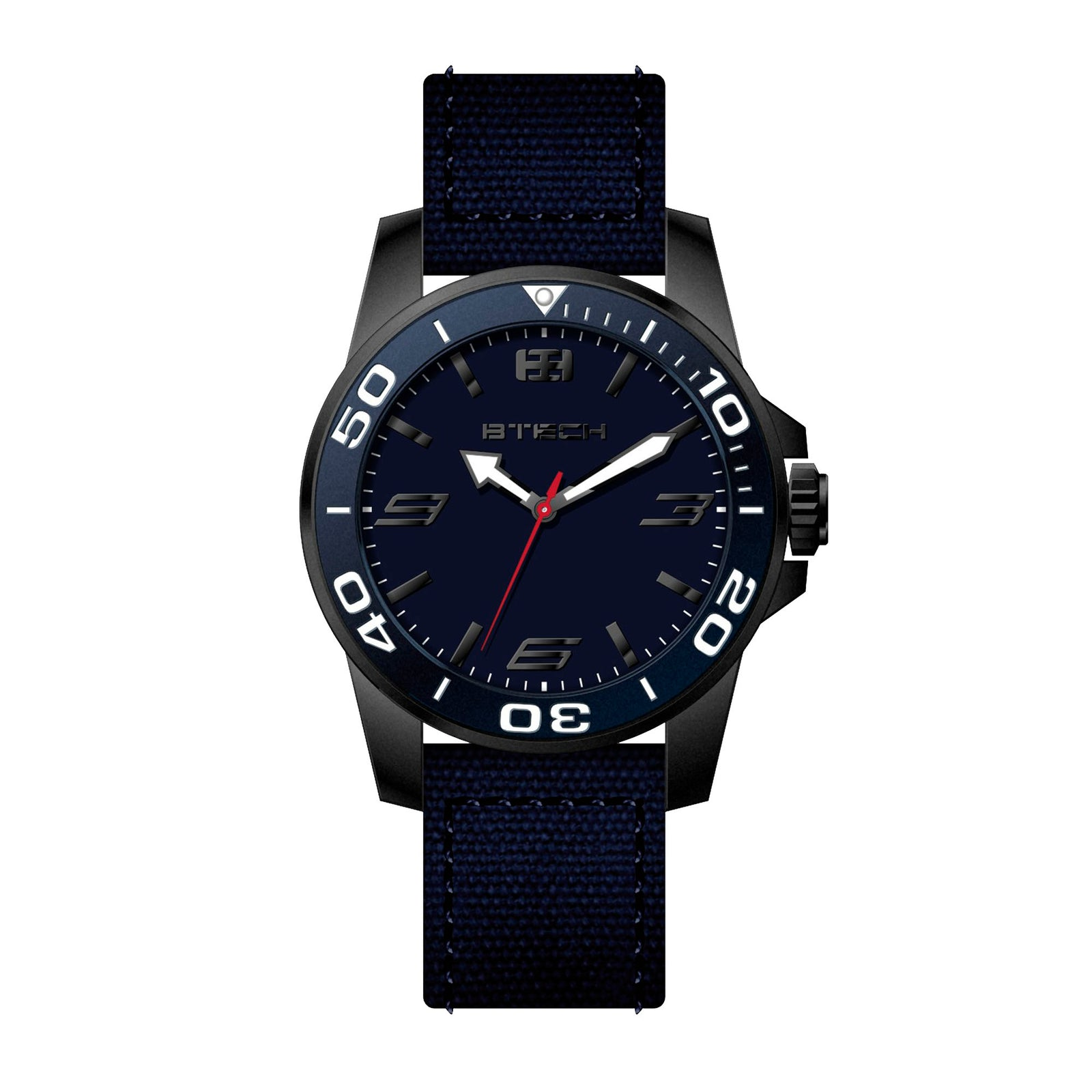 Commander Dark Blue Watch (BT-CO-124-74)