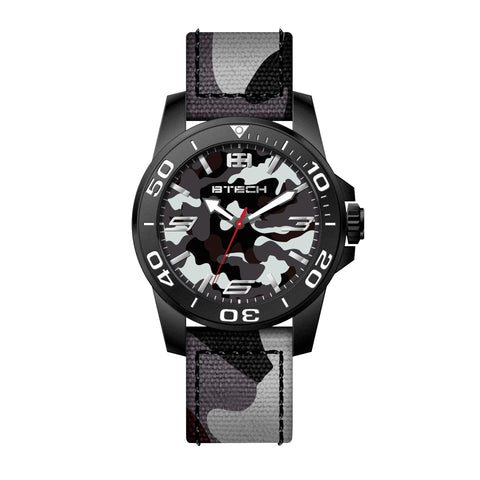 Cite II Black Silver Men Watch (BT-NC-612-52)