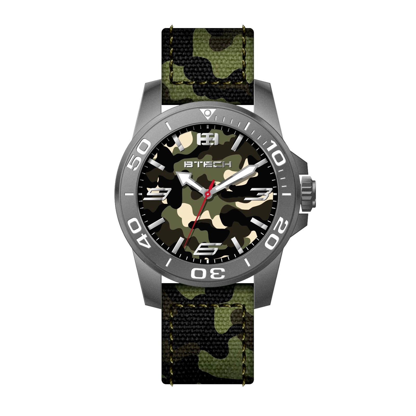 Commander Military Green Camo Men Watch (BT-CO-188-87)