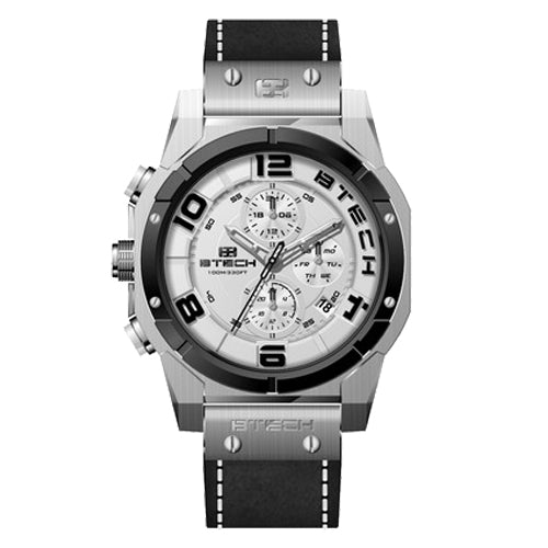 BTECH Cite II Chrono Black Silver Men Watch (BT-NC-612-52)