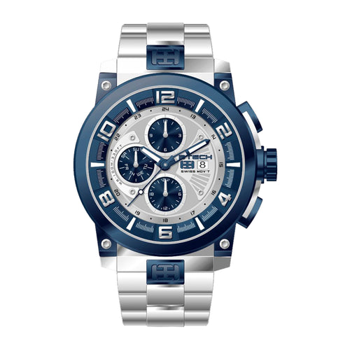 Delta Blue Silver Men Watch (BT-CD-614-01)