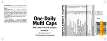 One-Daily Multi Caps - 120 Capsules (120 day supply)