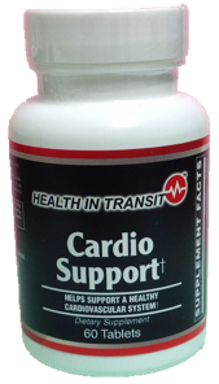 Cardio Support - 120 Tablets (2 bottles of 60 tablets) (40 day supply)
