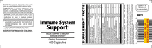 Immune System Support - 60 Capsules (30 day supply)