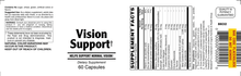 Vision Support - 60 Capsules (30 day supply)