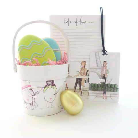 Brittany Fuson, fashion illustration, ellenJay cookies, Easter baskets