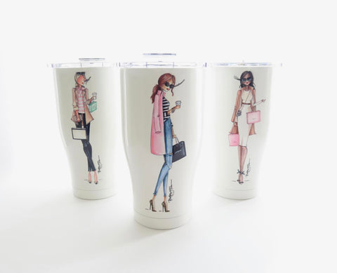Brittany Fuson, new arrivals, spring collection, Orca, tumbler