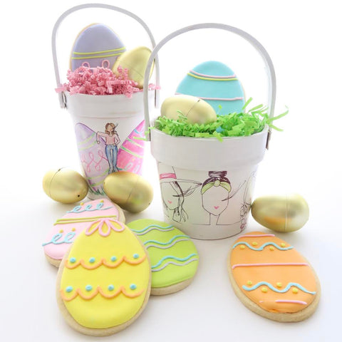 Brittany Fuson, Easter baskets, ellenJay sweets, fashion illustration