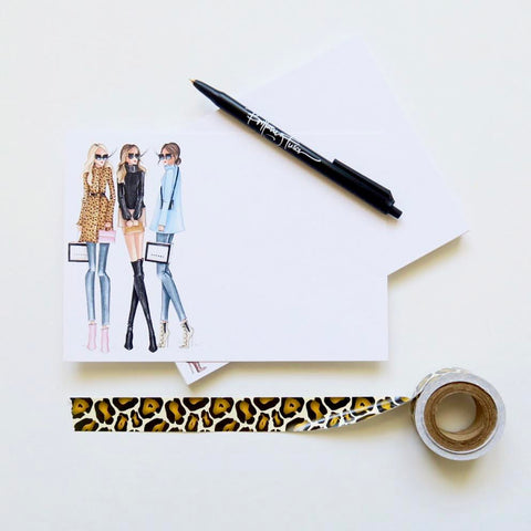 Brittany Fuson, fashion illustration, fall trends, new arrivals