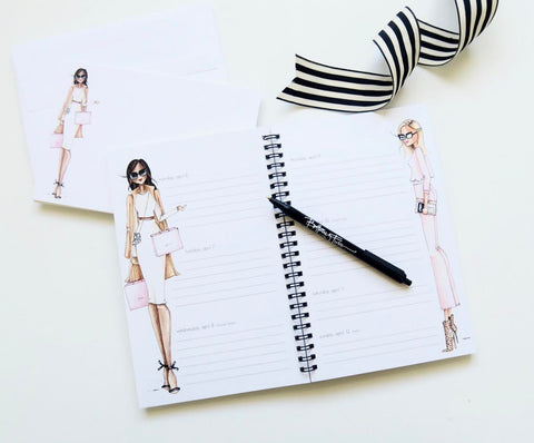 Brittany Fuson, fashion illustration, new arrivals, 2020 planner