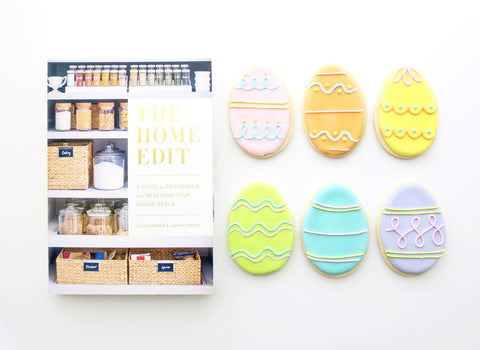 Brittany Fuson, Easter baskets, The Home Edit, ellenJay cookies