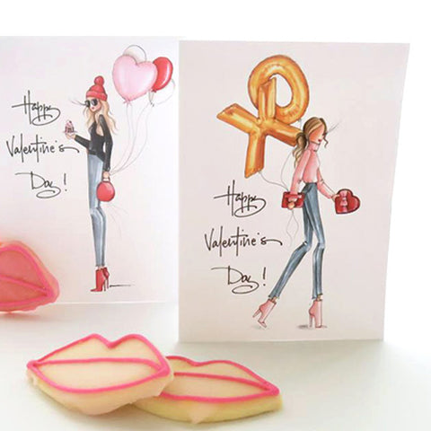 Brittany Fuson, Valentine's Day, greeting cards