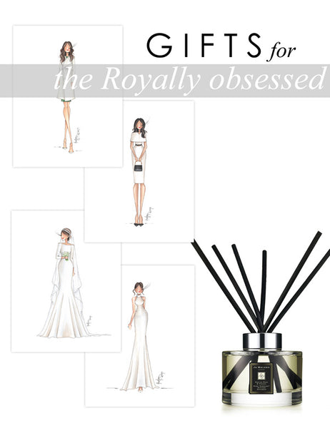 Brittany Fuson, 2019 Gift Guide, Royally obsessed, Meghan Markle, Royal Family