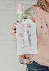 Brittany Fuson, fashion illustration, summer collection, be original, be yourself, be love, rose all day
