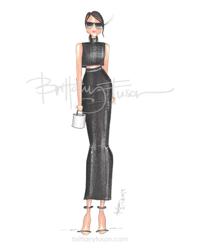 Brittany Fuson, fashion illustration