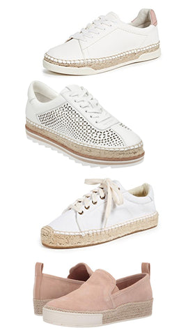 Brittany Fuson, fashion illustration, spring trends, espadrille sneakers