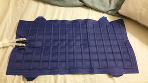 "Cool Buddy Replacement Pad-Pillow Pad (12""x24"") - With Straps (Pad Only-No Tubing)"