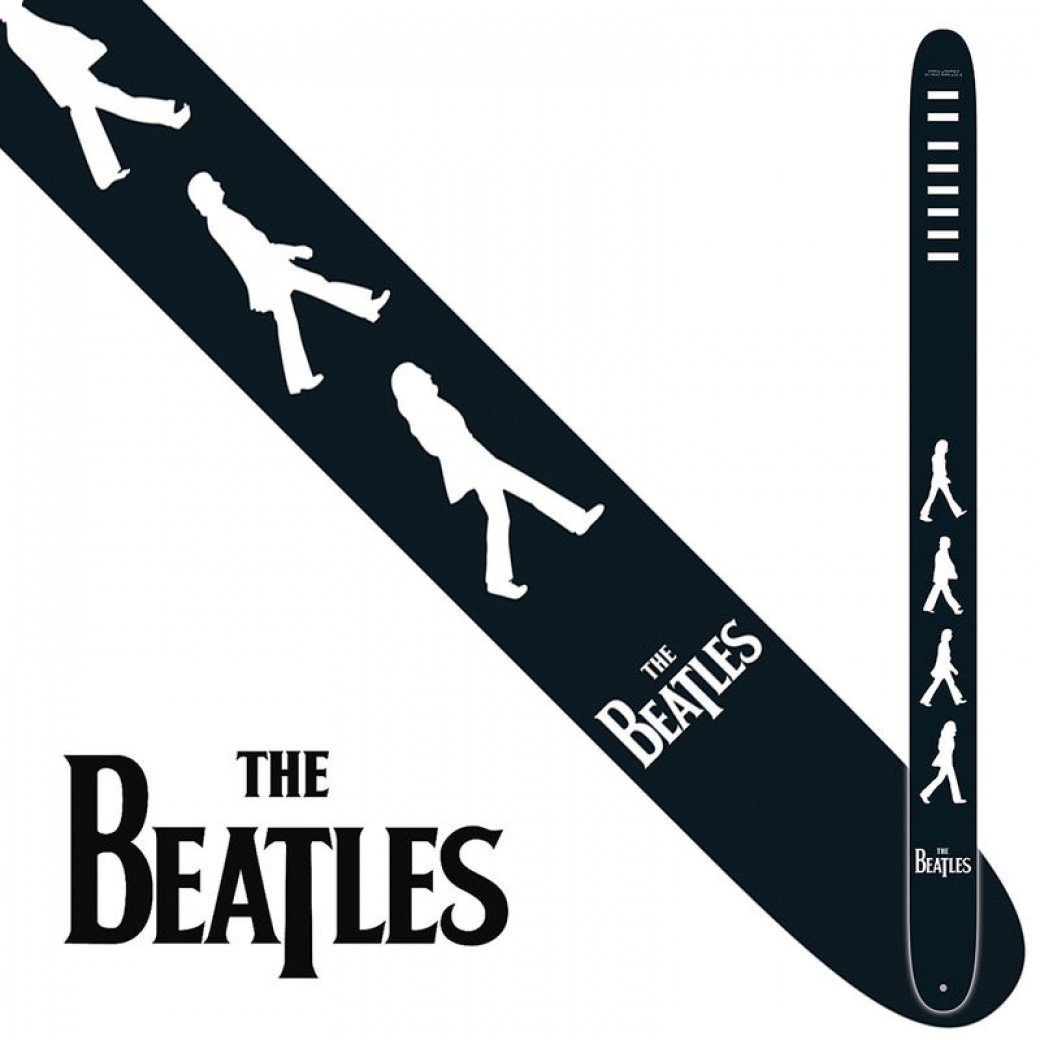 The Beatles Abbey Road Guitar Strap - Leigh Music Co