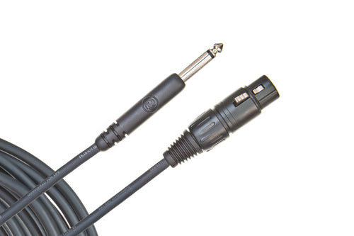 Planet Waves Classic Series Microphone Cable - Jack to Female XLR - Leigh Music Co