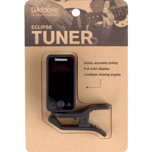 Planet Waves Eclipse Clip-On Headstock Guitar Tuner - Leigh Music Co
