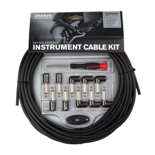 Planet Waves Solderless Instrument Cable Kit - Leigh Music Co