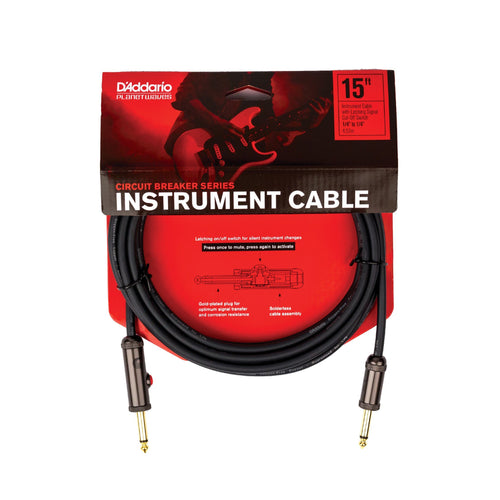 Planet Waves Circuit Breaker 15ft Instrument Cable - Leigh Music Co