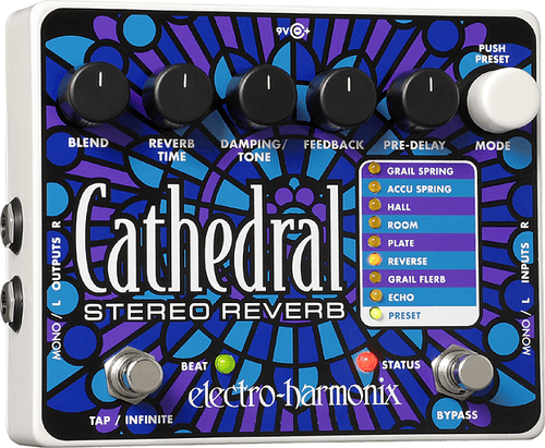 Electro-Harmonix Cathedral Stereo Reverb - Leigh Music Co