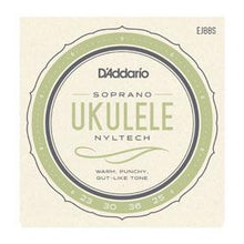 D'Addario Nyltech Ukulele Strings - Leigh Music Co
