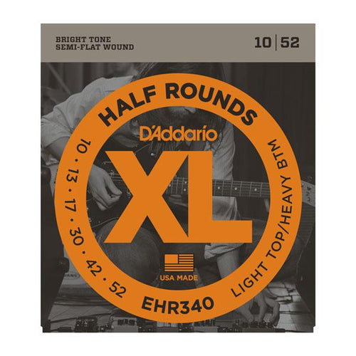 D'Addario Half Round Electric Guitar Strings - Leigh Music Co