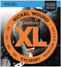 D'Addario XL Nickel Round Wound Electric Bass Strings - Leigh Music Co