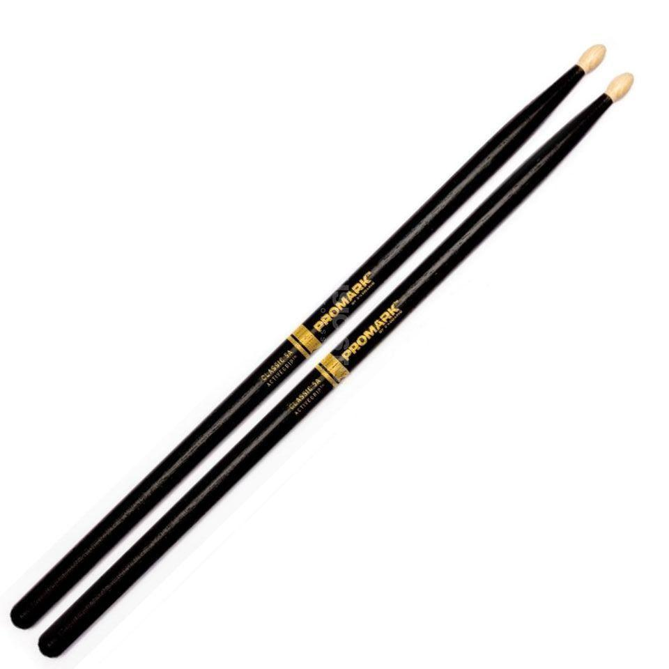 Promark ActiveGrip Wood Tip Drumsticks - Leigh Music Co