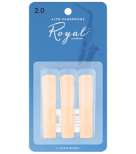 Rico Royal Alto Saxophone Reeds - Leigh Music Co