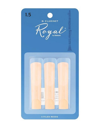 Rico Royal Bb Clarinet Reeds - Leigh Music Co