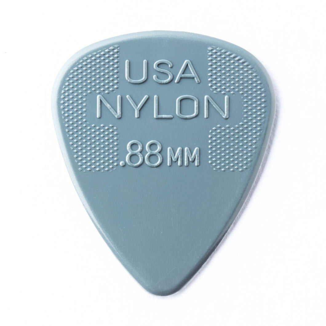 Dunlop Nylon Guitar Pick .88mm (Pack of 12) - Leigh Music Co
