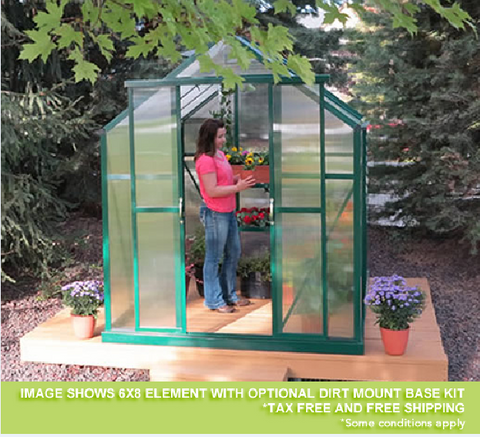 GREENHOUSES Grandio Element PREMIUM 6x4