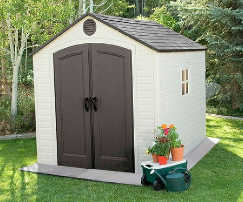 Outdoor Storage Shed (8' x 10')
