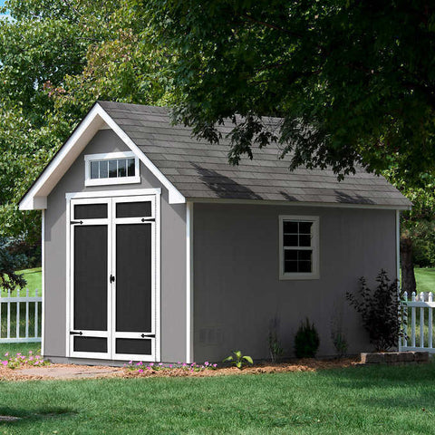 Everton 8 ft. x 12 ft. Deluxe Wood Storage Shed Free Shipping*