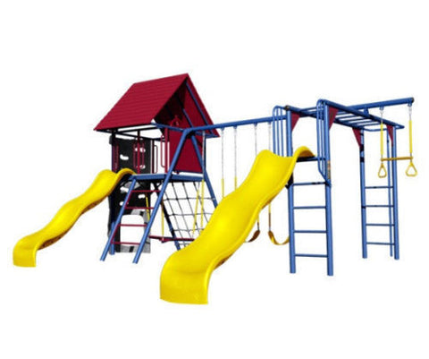 Lifetime-Deluxe-Double-Slide-Primary-Colors-Swing-Set-model-90274  Lifetime-Del