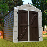 SkyLight™ 6 ft. W x 8 ft. D Plastic Storage Shed