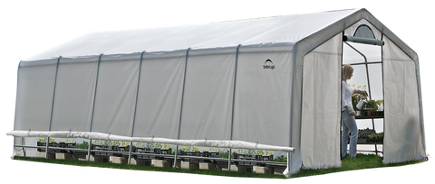 Shelter Logic GROWIT® HEAVY DUTY GREENHOUSE 12 X 24 X 8 FT.