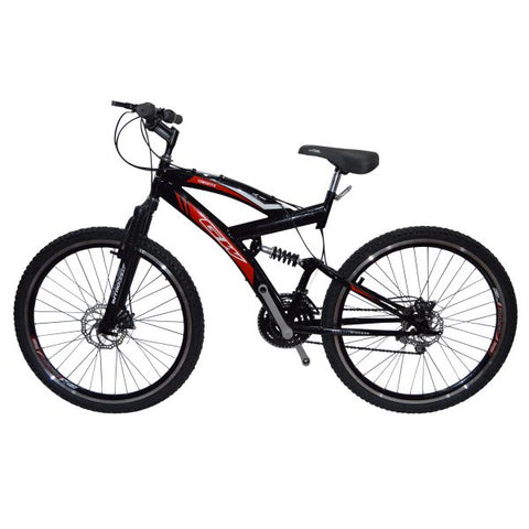 Bicicleta Todoterreno Adulto Gw Caronte Freno de Disco  Rin 26 Doble Pared