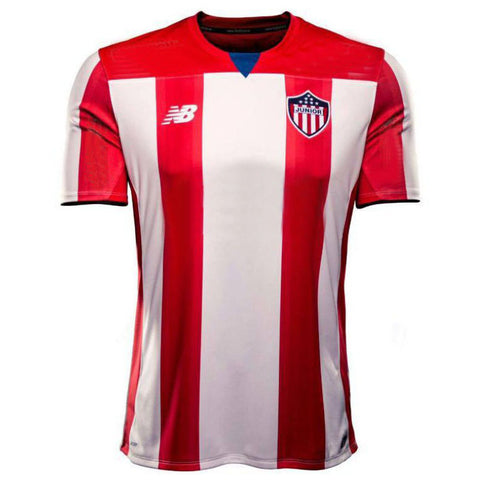 Camiseta Oficial Junior de Barranquilla Local NEW BALANCE