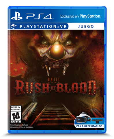 Juego PSVR Until Dawn Rush Of Blood